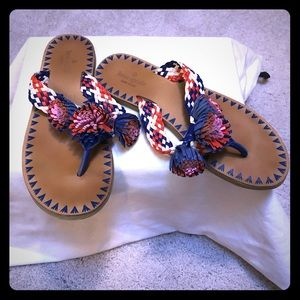 Worn once! Kate Spade sandals size 9